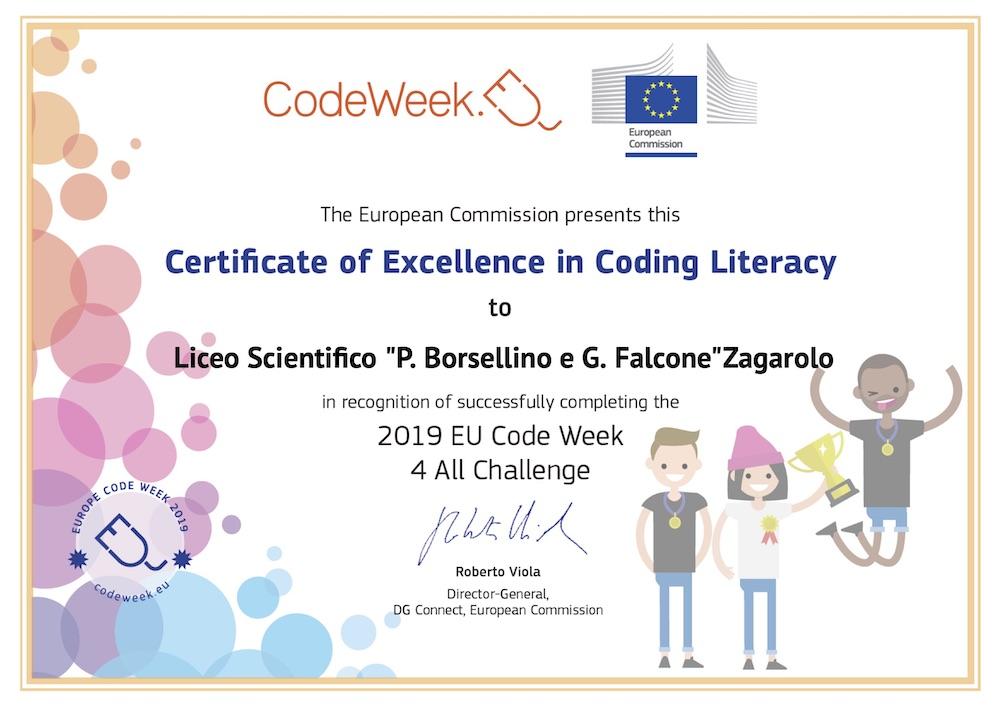 Europe Code Week, la Settimana Europea della Programmazione